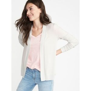 Old Navy Shortie Cardigan in Calla Lily Size XL